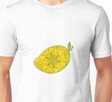 Mango Fruit Mandala Unisex T-Shirt