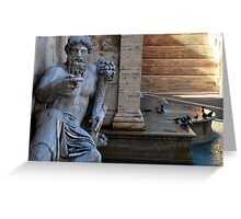 Fountain of the Goddess Roma  Greeting Card