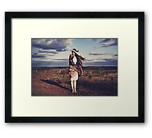*Deliverance from my World of Hurt Framed Print