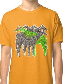 Color Giraffs  Classic T-Shirt