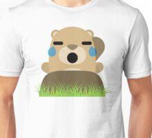 Mole Emoji Teary Eyes and Sad Look Unisex T-Shirt