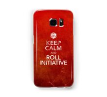 Keep Calm and Roll Initiative (Print) Samsung Galaxy Case/Skin