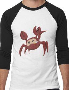 Red Spycrab Men's Baseball ¾ T-Shirt