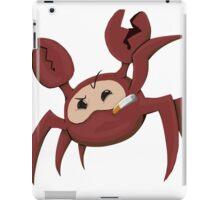 Red Spycrab iPad Case/Skin