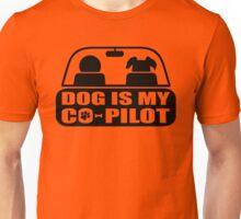 Dog-Co-Pilot-Puppy-Funny Unisex T-Shirt