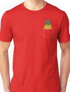 Pocket Pineapple Unisex T-Shirt