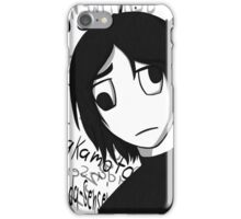 Masada sensei iPhone Case/Skin