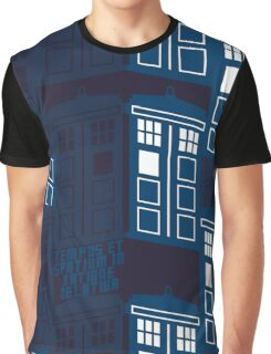 LATIN TARDIS Graphic T-Shirt