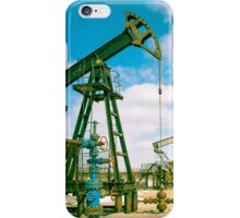 Oil and gas industry. iPhone Case/Skin