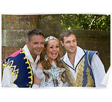 Jamie Rickers, Pop idol Sonia and Marc Baylis in Sleeping Beauty Poster