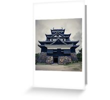 Matsue Castle Greeting Card