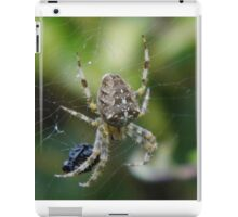 Spider with its Dinner iPad Case/Skin