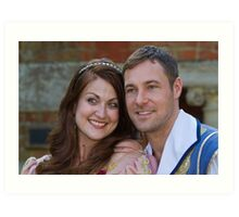Sophia Thierens and Marc Baylis in Sleeping Beauty Art Print