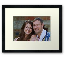 Sophia Thierens and Marc Baylis in Sleeping Beauty Framed Print