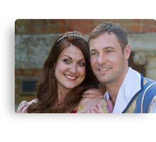 Sophia Thierens and Marc Baylis in Sleeping Beauty Metal Print