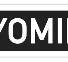 Wyoming C Sticker