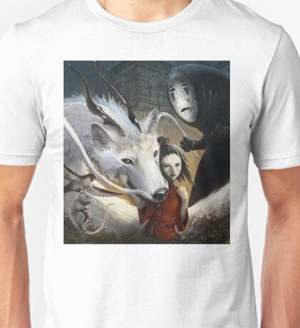 Spirited Away Realistic  Unisex T-Shirt
