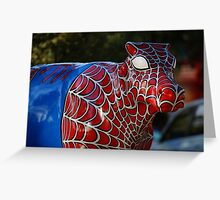 Shepparton Mooving Art - Spider Cow Greeting Card