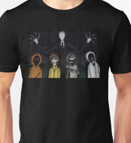 Slenderman and Proxies Unisex T-Shirt