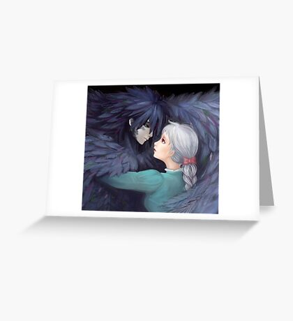 Howls Moving Castle  Greeting Card