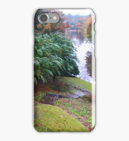 Lake Front Property iPhone Case/Skin
