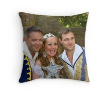 Jamie Rickers, Pop idol Sonia and Marc Baylis in Sleeping Beauty Throw Pillow