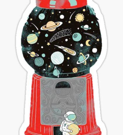 Space Gum Sticker