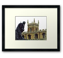 WW2 Memorial, Huntingdon Framed Print