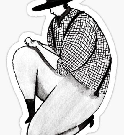 Westworld Cowboy Sticker