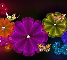 Flower Wonderland by Chazagirl