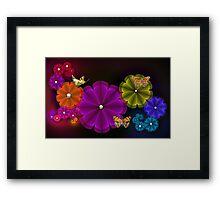 Flower Wonderland Framed Print