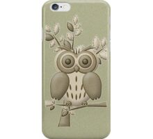 Green Owl .. case iPhone Case/Skin