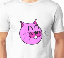 Cats & Kittens Funny Series: The Pink Cat Strikes Back Unisex T-Shirt
