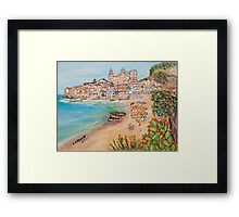 Memorie d'estate Framed Print