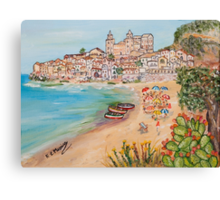 Memorie d'estate Canvas Print
