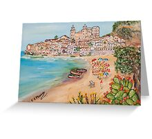 Memorie d'estate Greeting Card
