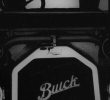 Black Buick Sticker