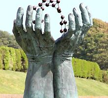 Hands and molecules by missmoneypenny