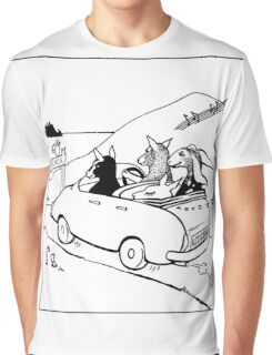Goats on the Road Graphic T-Shirt