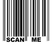 Scan Me Tee by Colin Bentham