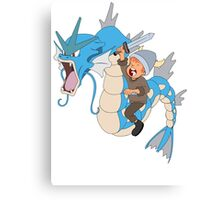 Gyarados pokemon Canvas Print