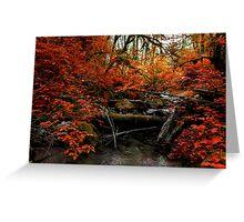 The Fall ~ Oregon Fall Colors ~ Greeting Card