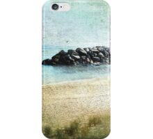 Quietude in Turquoise iPhone Case/Skin