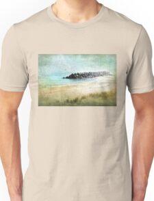 Quietude in Turquoise Unisex T-Shirt