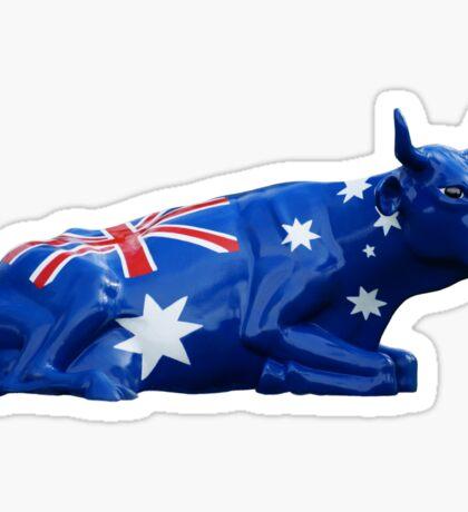 Aussie cow Sticker