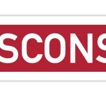 Wisconsin R Sticker