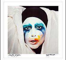 Lady Gaga APPLAUSE COVER by Warac