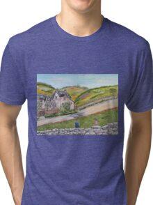 Pomeriggio di giugno all'aperto Tri-blend T-Shirt