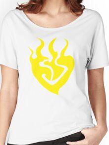burning heart (Yang Xiao Long) Women's Relaxed Fit T-Shirt