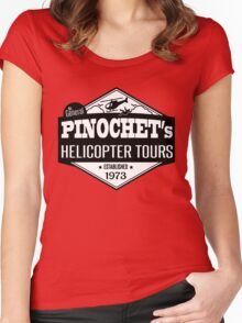 Pinochet's Helicopter Tours Women's Fitted Scoop T-Shirt